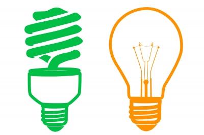 Rozdiel medzi obyčajnou a LED žiarovkou